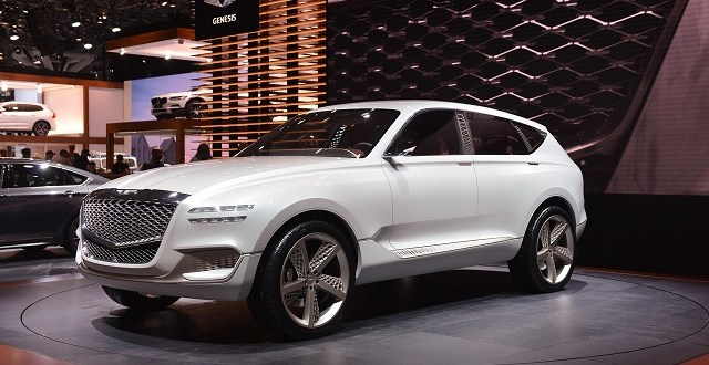 Best 7 Seater Suv >> 2019 Genesis GV80 SUV - 2019 and 2020 New SUV Models