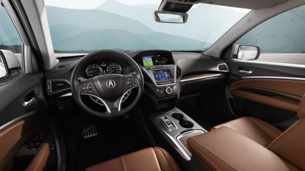 2018 Acura MDX Hybrid interior