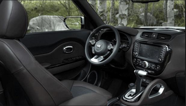 2018 Kia Soul EV interior