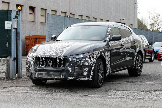 2018 Maserati Levante GTS Spy Photos - 2019 and 2020 New ...