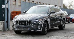 2018 Maserati Levante GTS front