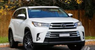 2018 Toyota Kluger front view