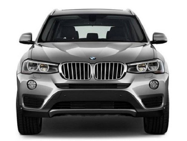 2019 BMW X3 eDrive front view
