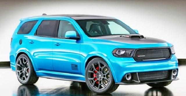 2019 Dodge Durango Srt Hellcat 2019 And 2020 New Suv Models