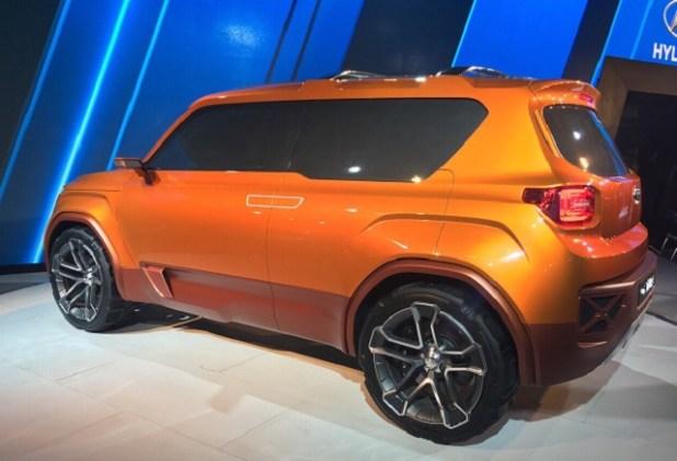 2019 Hyundai Carlino rear view