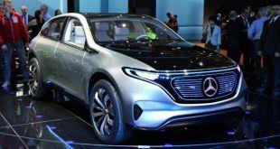 2019 Mercedes EQ front