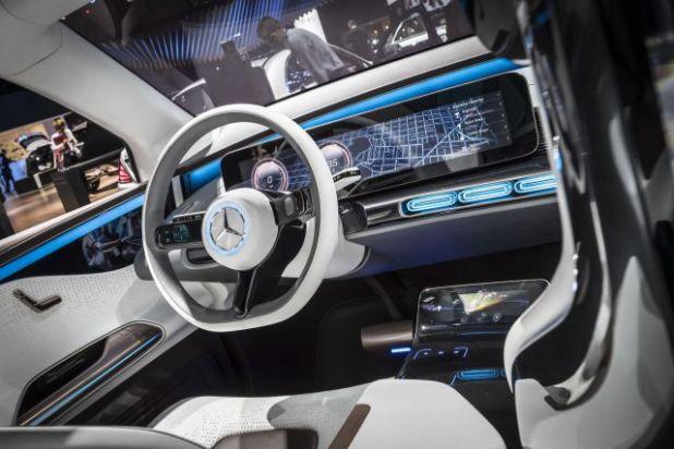 2019 Mercedes EQ interior
