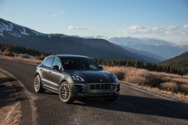2019 Porsche Macan front