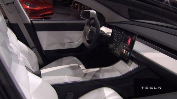 2019 Tesla Model Y interior