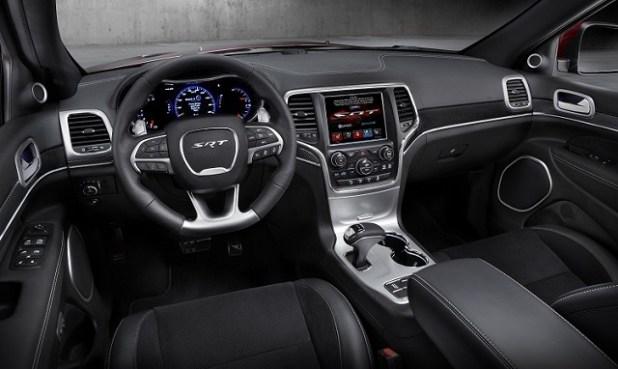 2019 jeep grand cherokee srt interior