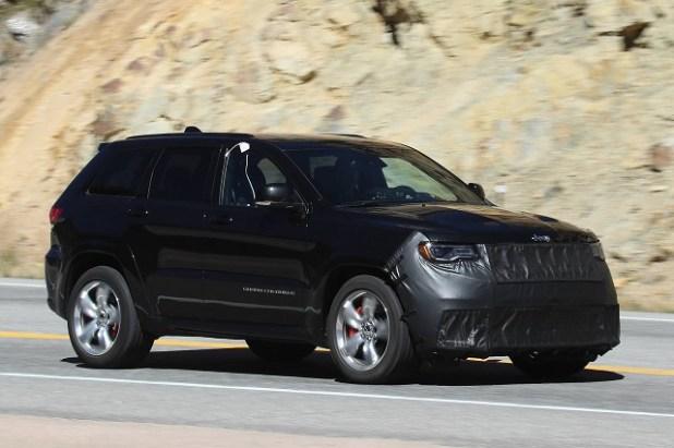 2019 jeep grand cherokee srt spy shots