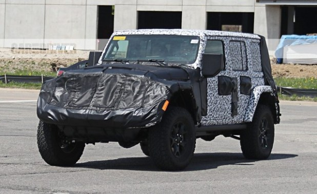 2019 jeep wrangler unlimited spy