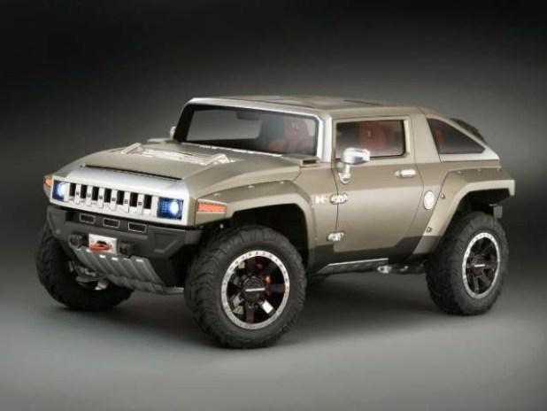 2018 Hummer H3 Concept