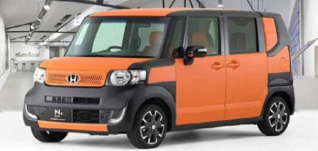2018 honda element front view