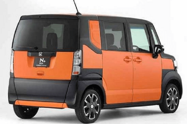 2018 honda element rear