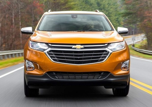 2019 Chevy Equinox front view