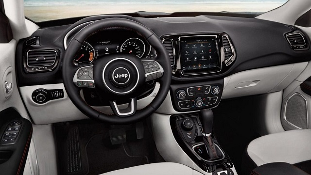 Grand Wagoneer 2018 >> 2019 Jeep Compass interior (2) - 2019 and 2020 New SUV Models