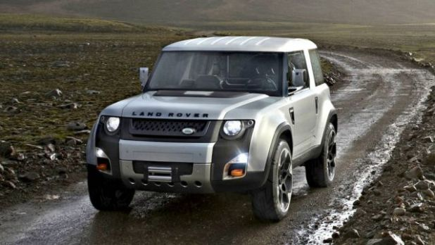 2019 Land Rover Defender front