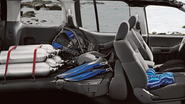 2019 Nissan Xterra interior