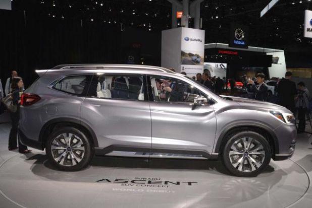 2019 Subaru Ascent side