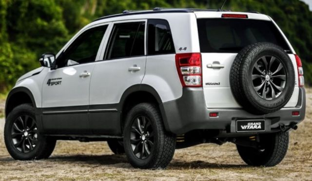 2019 Suzuki Grand Vitara rear - 2019 and 2020 New SUV Models