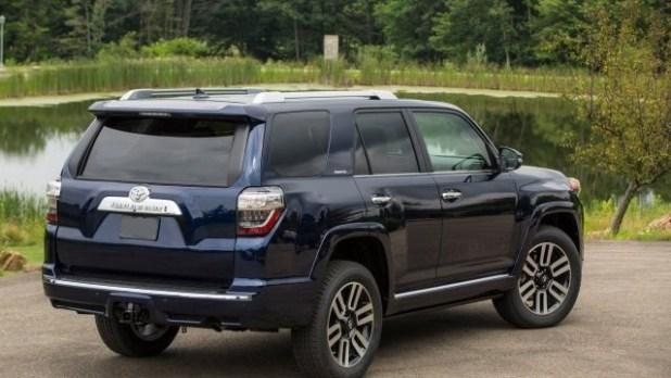 2019 Toyota 4Runner rear