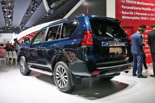 2019 Toyota Land Cruiser Prado rear