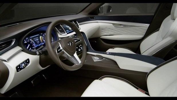 2019 Infiniti QX70 interior view