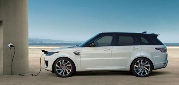 2019 Land Rover Range Rover Sport side