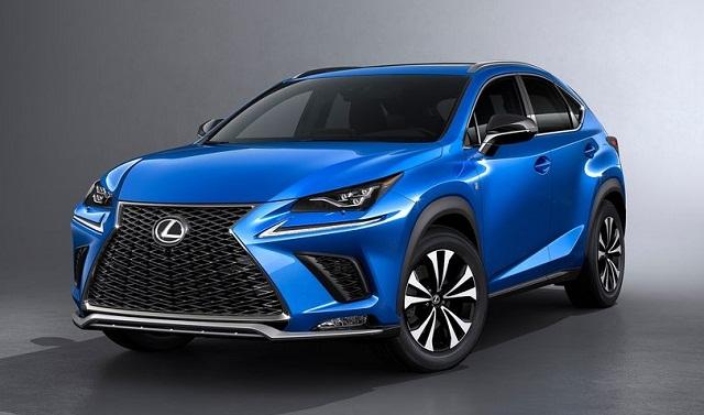 2019 lexus nx 300  300h  f sport models