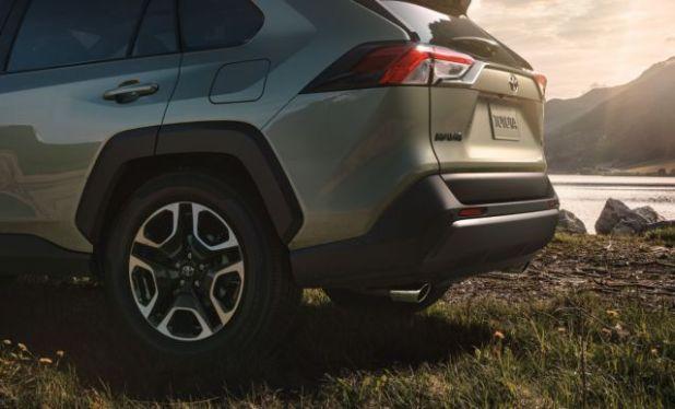 2019 Toyota RAV4 Hybrid rear view