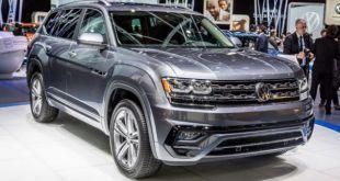 2019 Volkswagen Atlas front