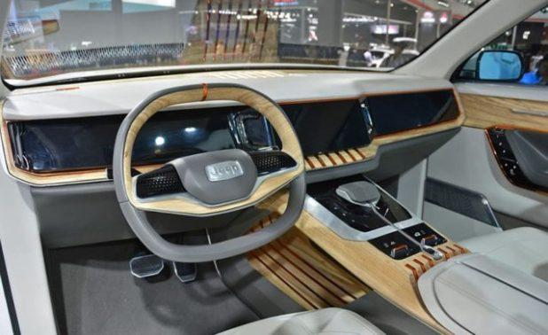Jeep Yuntu concept interior