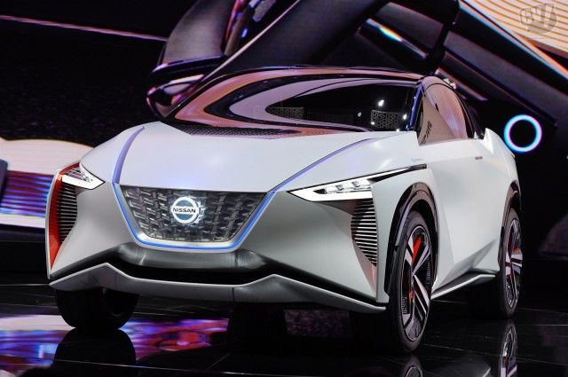 Nissan Imx Concept Leaf Based Electric Suv 2019 And 2020
