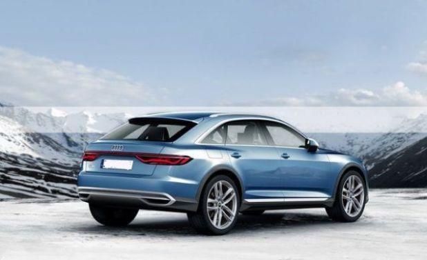 2019 Audi Q6 rear