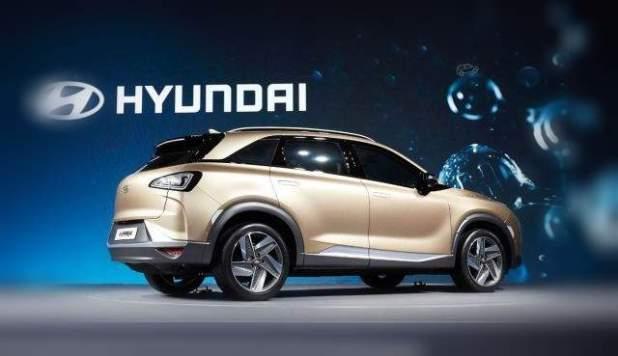 2019 Hyundai Tucson Fuel Cell rear