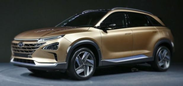 2019 Hyundai Tucson Fuel Cell side