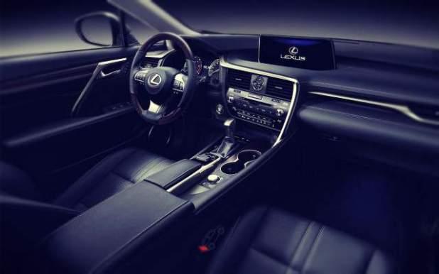 2019 Lexus RX 450h interior