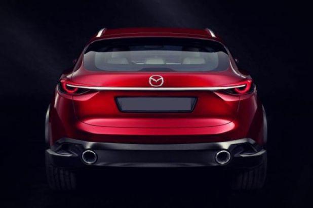 2019 Mazda CX-7 rear