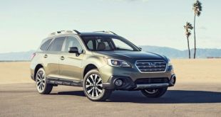 2020 Subaru Outback front view