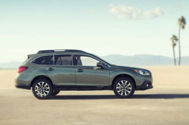 2020 Subaru Outback side