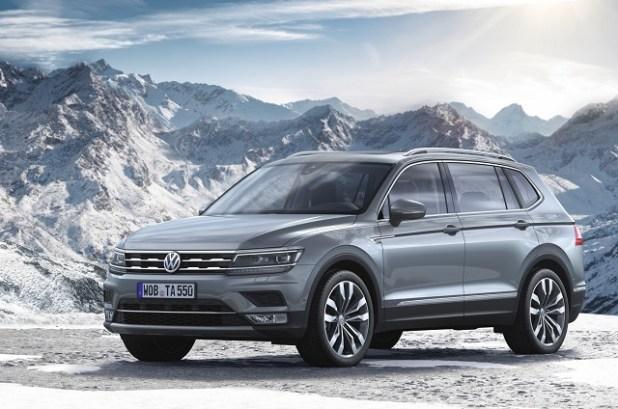 2018 VW Tiguan Allspace 7-Seat SUV front view