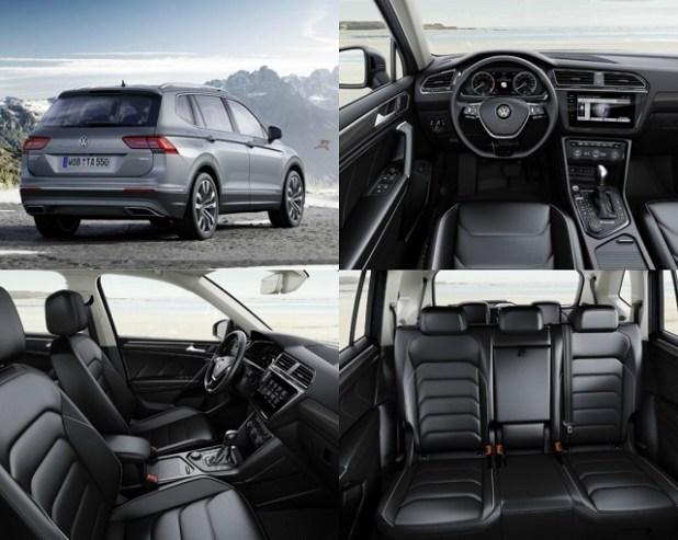 2018 VW Tiguan Allspace 7-Seat SUV interior