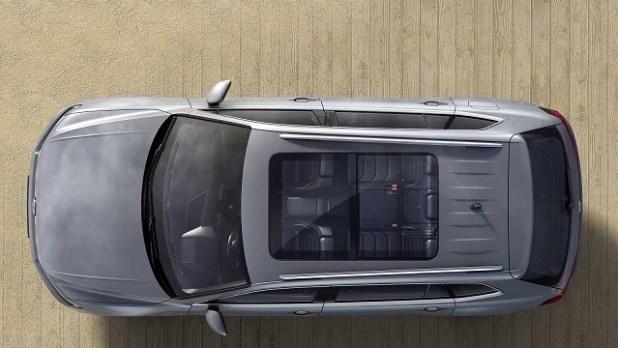 2018 VW Tiguan Allspace 7-Seat SUV top view