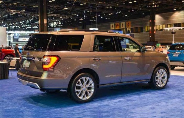 2019 Ford Expedition Hybrid rear view
