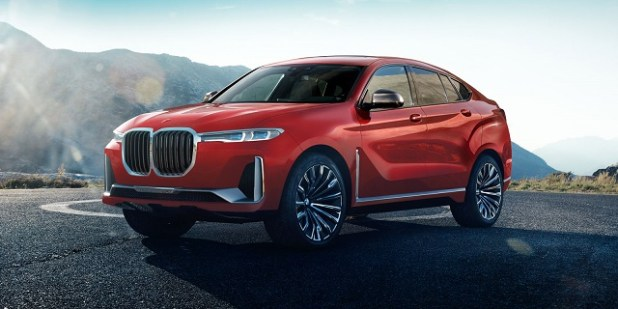 2019 bmw x8 front view