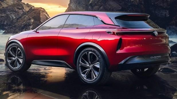 2019 buick enspire rear view