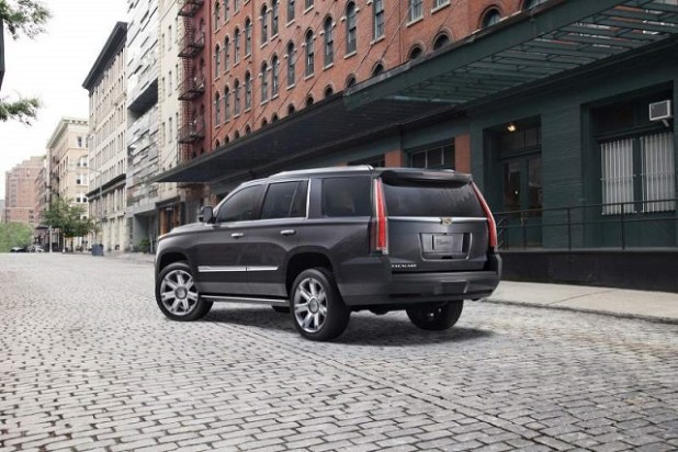 2020 Cadillac Escalade rear view