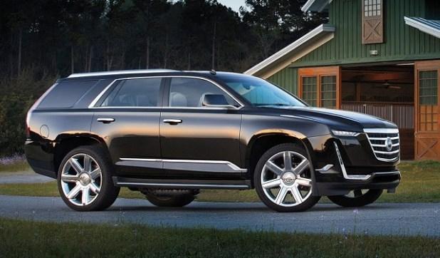 2020 Cadillac Escalade side view