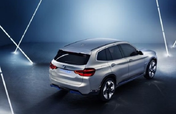 2019 BMW iX3 rear view